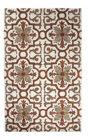 Dynamic Rugs Casual 92336 Rust/Multi Area Rug main image