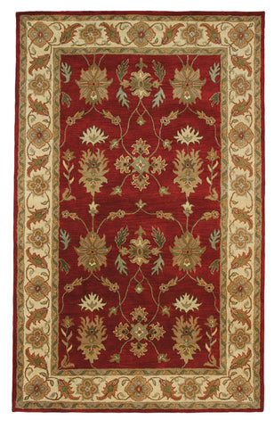 Dynamic Rugs Charisma 1403 Red/Ivory Area Rug main image