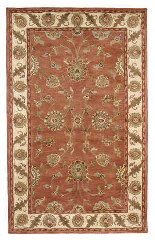 Dynamic Rugs Charisma 1405 Rust/Ivory Area Rug main image