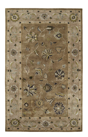 Dynamic Rugs Charisma 1406 Light Green Area Rug main image
