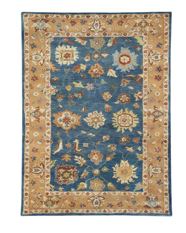 Dynamic Rugs Charisma 1409 Medium Blue Area Rug main image