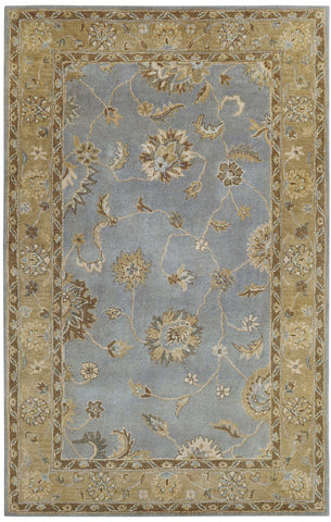 Dynamic Rugs Charisma 1416 Light Blue Area Rug main image