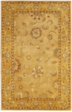 Dynamic Rugs Charisma 1416 Gold Area Rug main image