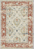 Dynamic Rugs Essence 55780 Ivory/Red Area Rug main image