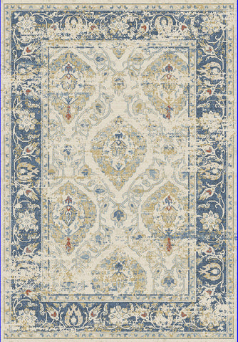 Dynamic Rugs Essence 55780 Ivory/Blue Area Rug main image