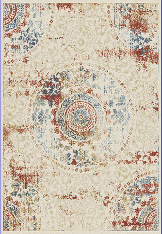 Dynamic Rugs Essence 55800 Ivory/Multi Area Rug main image