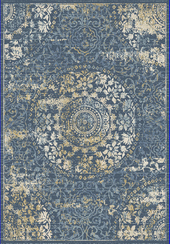 Dynamic Rugs Essence 55800 Dark Blue Area Rug main image
