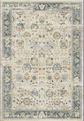 Dynamic Rugs Essence 55870 Ivory/Light Blue Area Rug main image