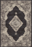 Dynamic Rugs Farahan 95024 Black/Cream Area Rug main image