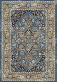 Dynamic Rugs Farahan 95042 Blue/Rust Area Rug main image