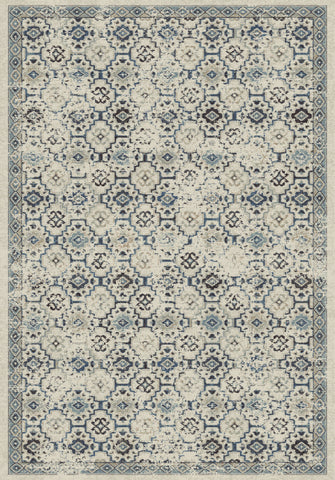Dynamic Rugs Farahan 95046 Ivory/Blue Area Rug main image