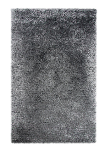 Dynamic Rugs Forte 88601 Dark Silver Area Rug main image
