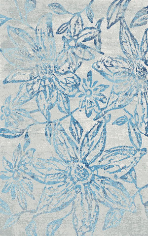 Dynamic Rugs Fusion 25415 Blue/Grey Area Rug main image