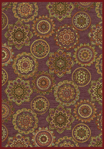 Dynamic Rugs Genova 38150 Red/Multi Area Rug main image