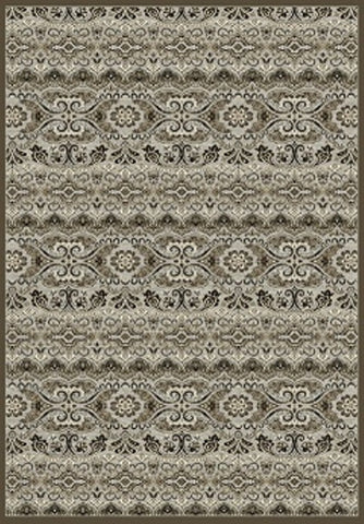 Dynamic Rugs Genova 38307 Grey/Chocolate Area Rug main image