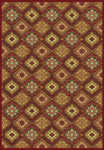 Dynamic Rugs Genova 38413 Red/Multi Area Rug main image