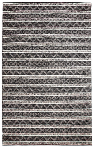 Dynamic Rugs Heirloom 91004 Charcoal/Silver Area Rug main image