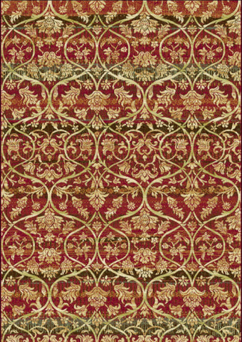 Dynamic Rugs Heritage 89484 Red/Multi Area Rug main image