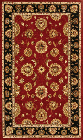 Dynamic Rugs Jewel 70230 Red Area Rug main image