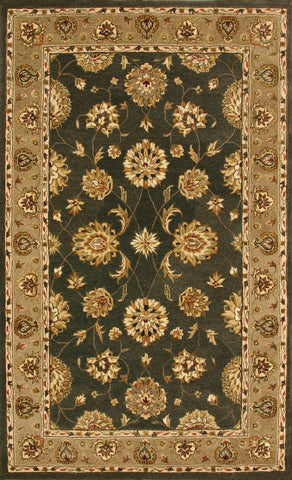 Dynamic Rugs Jewel 70230 Green Area Rug main image