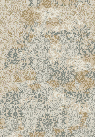 Dynamic Rugs Kingston 76112 Cream/Silver/Copper Area Rug main image