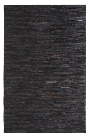 Dynamic Rugs Leatherwork 8109 Black Area Rug main image