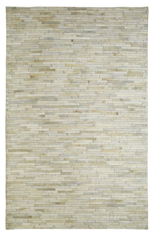 Dynamic Rugs Leatherwork 8109 Ivory Area Rug main image