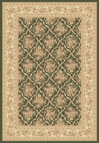 Dynamic Rugs Legacy 58018 Green Area Rug main image