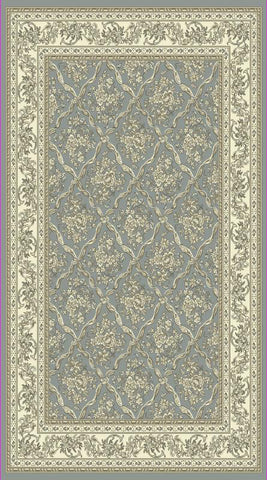 Dynamic Rugs Legacy 58018 Light Blue/Ivory Area Rug main image