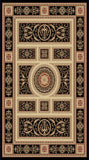 Dynamic Rugs Legacy 58021 Black Area Rug main image