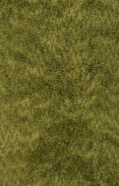 Dynamic Rugs Luxury Shag 2550 Olive Green Area Rug