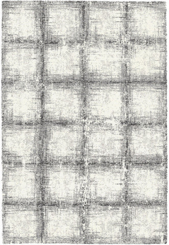 Dynamic Rugs Mehari 23095 Black/White Area Rug main image