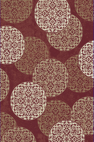 Dynamic Rugs Melody 985014 Red Area Rug main image