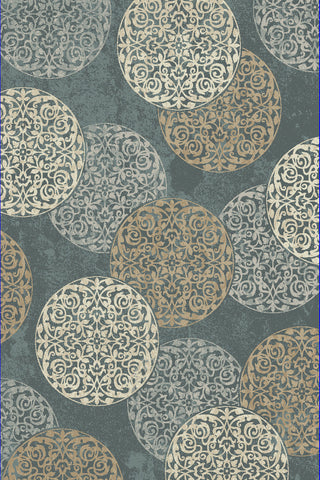 Dynamic Rugs Melody 985014 Blue Area Rug main image
