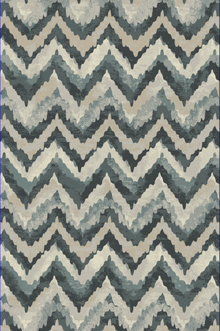 Dynamic Rugs Melody 985018 Blue Area Rug main image