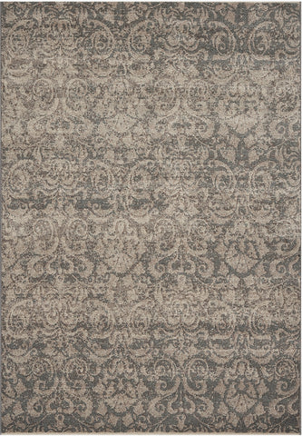 Dynamic Rugs Mysterio 1217 Silver Area Rug main image