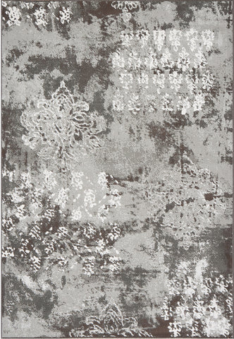 Dynamic Rugs Mysterio 1220 Silver Area Rug main image