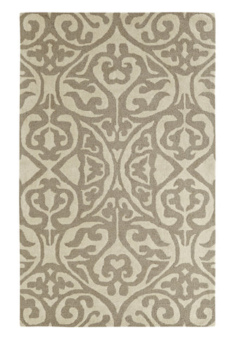Dynamic Rugs Palace 5545 Silver/Ivory Area Rug main image