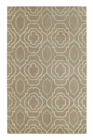 Dynamic Rugs Palace 5551 Silver/Ivory Area Rug main image