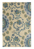 Dynamic Rugs Palace 5565 Beige/Blue Area Rug main image