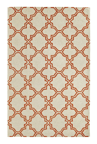 Dynamic Rugs Palace 5568 Ivory/Orange Area Rug main image