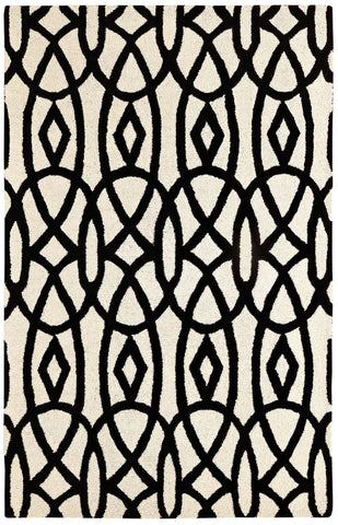 Dynamic Rugs Palace 5570 Ivory/Black Area Rug main image