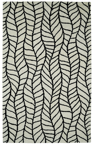 Dynamic Rugs Palace 5579 Black/White Area Rug main image