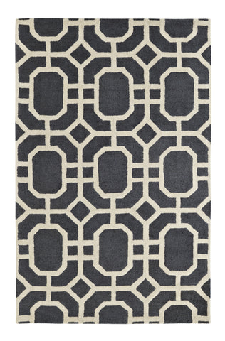 Dynamic Rugs Palace 5599 Grey/Ivory Area Rug main image