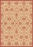 Dynamic Rugs Piazza 2744 Natural/Red Area Rug main image