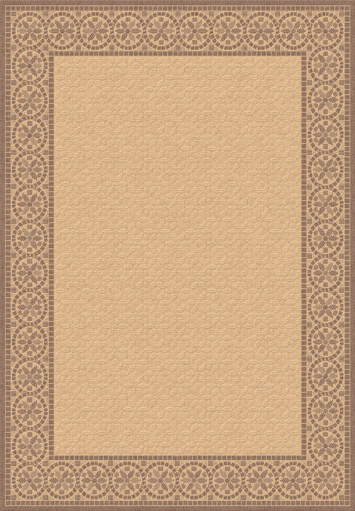 Dynamic Rugs Piazza 2745 Brown Area Rug main image