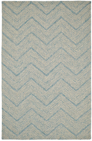 Dynamic Rugs Polar 99663 Ivory/Blue Area Rug main image