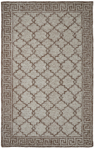 Dynamic Rugs Polar 99666 Ivory/Brown Area Rug main image