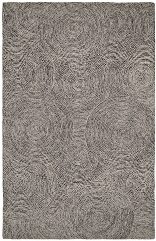 Dynamic Rugs Polar 99668 Ivory/Black Area Rug main image