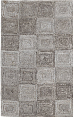 Dynamic Rugs Posh 7805 Grey Area Rug main image